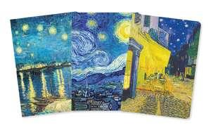Vincent van Gogh Mini Notebook Collection de Flame Tree Studio