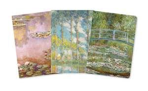 Claude Monet Mini Notebook Collection de Flame Tree Studio
