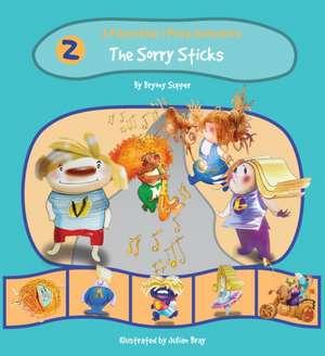 The Pasta Kidz: The Sorry Sticks de Bryony Supper