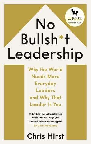 No Bullsh*t Leadership imagine