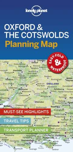 Oxford & the Cotswolds Planning Map imagine