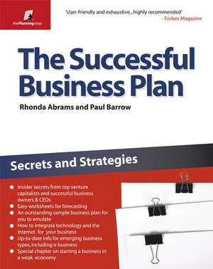 The Successful Business Plan