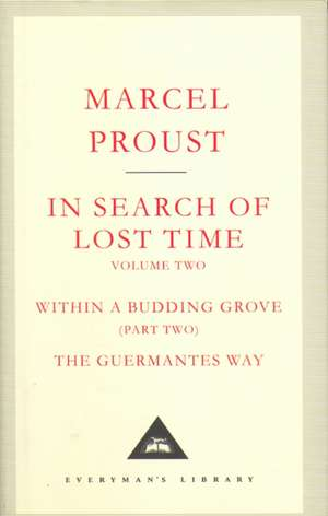 In Search Of Lost Time Volume 2 de Marcel Proust