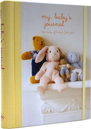 My Baby's Journal (Yellow)