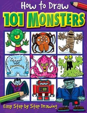 How to Draw 101 Monsters de Dan Green