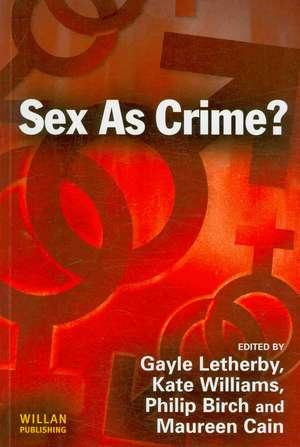 Sex as Crime imagine
