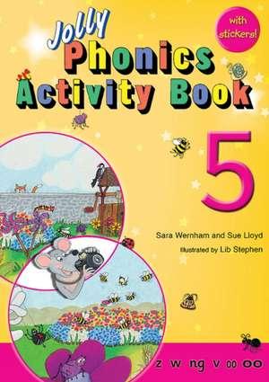 Jolly Phonics Activity Book 5 de Sara Wernham