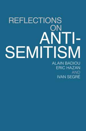 Reflections on Anti-Semitism imagine