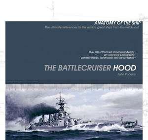 The Battlecruiser Hood de John Roberts