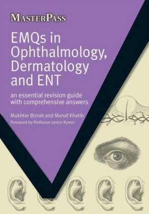 Emqs in Ophalmology, Dermatology Ad Ent