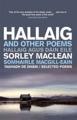 Hallaig and Other Poems de Sorley Maclean