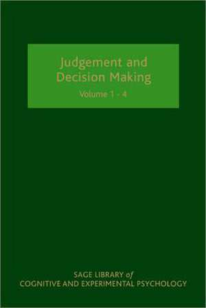 Judgement and Decision Making de Nick K. Chater
