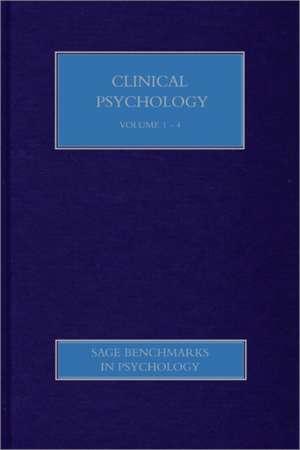 Clinical Psychology I