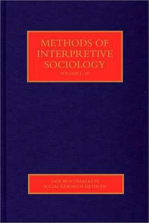 Methods of Interpretive Sociology de Matthew David