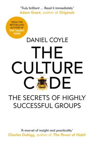 Culture Code de Daniel Coyle