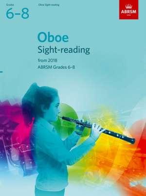 Oboe Sight-Reading Tests, ABRSM Grades 6-8 imagine
