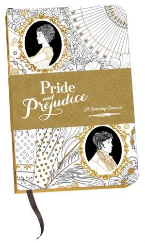 Austen, J: Pride and Prejudice: A Colouring Journal imagine