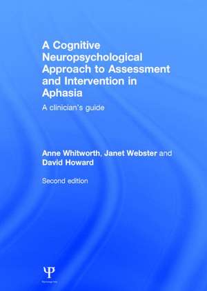 Whitworth, A: A Cognitive Neuropsychological Approach to Ass