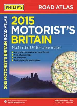 Philip's Motorist's Road Atlas Britain imagine