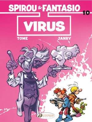 Spirou & Fantasio Vol. 10: Virus