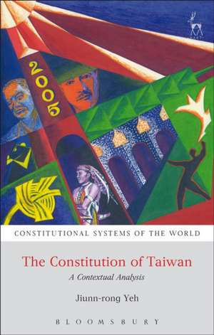 The Constitution of Taiwan: A Contextual Analysis de professor Jiunn-rong Yeh