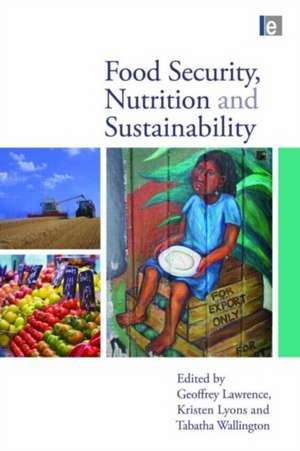 Food Security, Nutrition and Sustainability imagine