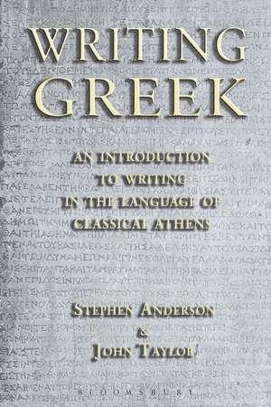 Writing Greek imagine