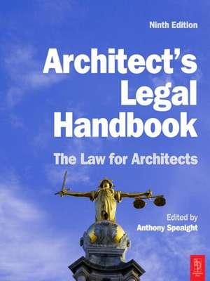 Architect's Legal Handbook imagine