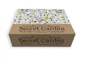 Secret Garden:  12 Notecards de Johanna Basford