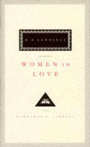 Lawrence, D: Women In Love de D. H. Lawrence