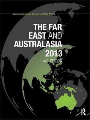 The Far East and Australasia 2013 de Europa Publications