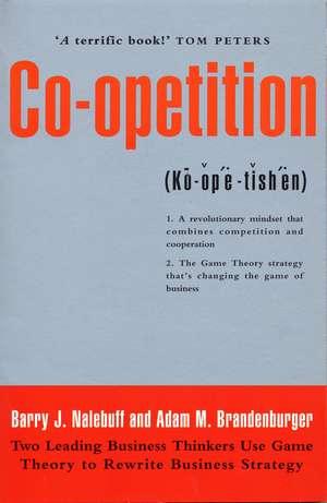 Co-Opetition de Adam M Brandenburger