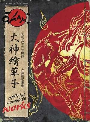 Okami Official Complete Works de Capcom