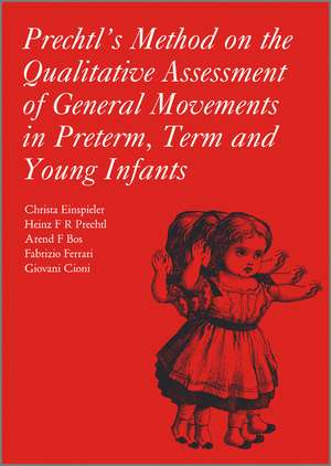 Prechtl′s Method on the Qualitative Assessment of General Movements in Preterm, Term and Young Infants