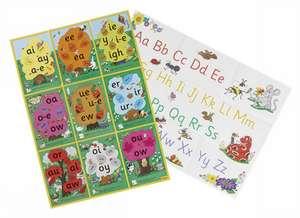 Jolly Phonics Alternative Spelling & Alphabet Posters de Sue Lloyd