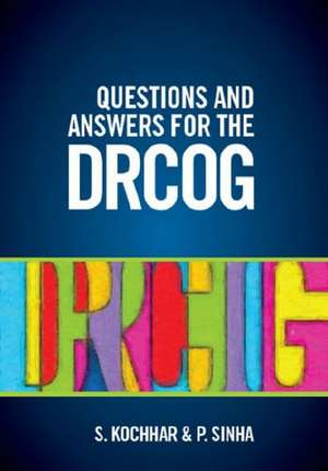 Questions and Answers for the DRCOG