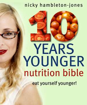Hambleton-jones  N: 10 Years Younger Nutrition Bib
