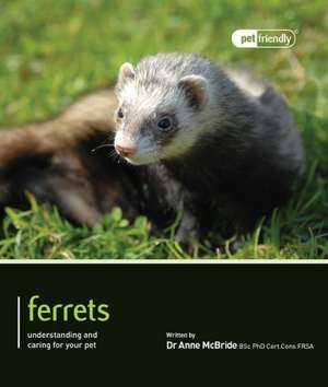 Ferrets:  Understanding and Caring for Your Pet de Anne McBride