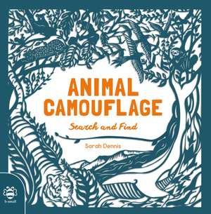 Animal Camouflage: A Papercut Search & Find Book