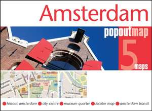Popout Map Amsterdam