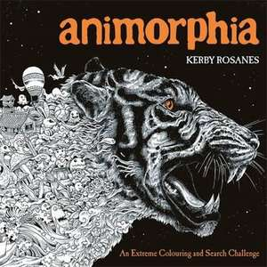 Animorphia: An Extreme Colouring and Search Challenge de Kerby Rosanes