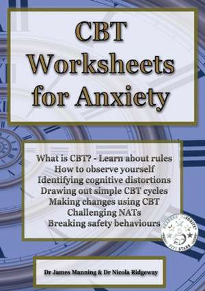 CBT Worksheets for Anxiety