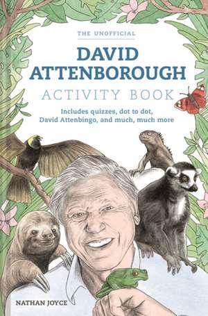 A Celebration of David Attenborough: The Activity Book imagine