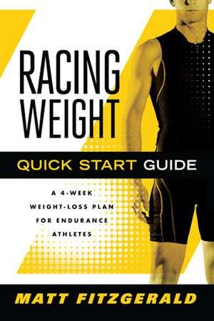 Racing Weight Quick Start Guide imagine