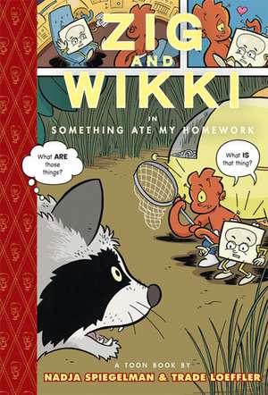 Zig And Wikki In 'something Ate My Homework' de Nadja Spiegelman