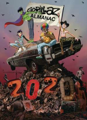 Gorillaz Almanac 2020 imagine