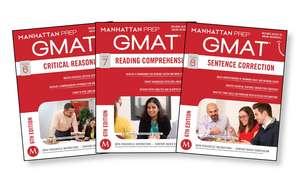 GMAT Verbal Strategy Guide Set de Manhattan Prep
