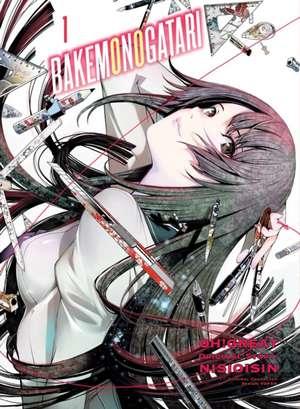 Bakemonogatari (manga), Volume 1 imagine