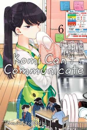 Komi Can't Communicate, Vol. 6 de Tomohito Oda