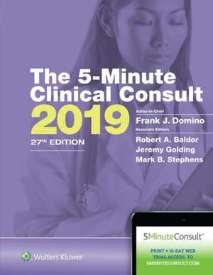 The 5-Minute Clinical Consult 2019